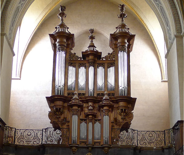 Photo de l'Orgue de la cathédrale de Tarbes